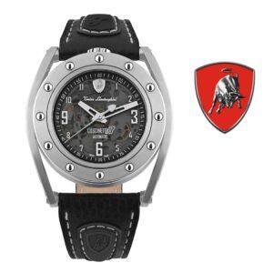 Relógio Lamborghini® Cuscinetto R Titanium TLF-T02-1 - Swiss Made automático - Titânio