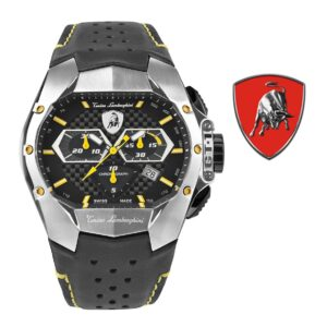 Relógio Lamborghini® GT1 Chronograph Steel Yellow T9GE-SS