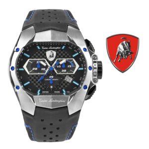 Relógio Lamborghini® GT1 Chronograph Steel Blue T9GC-SS