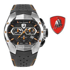Relógio Lamborghini® GT1 Chronograph Steel Orange T9GB-SS