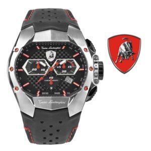 Relógio Lamborghini® GT1 Chronograph Steel Red T9GA-SS