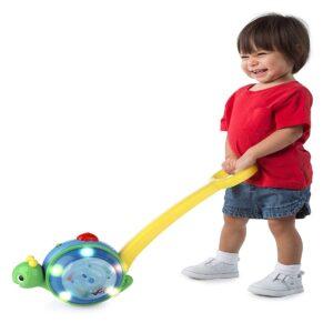 Brinquedo de Criança Roll & Glow Snail com Luz e Som