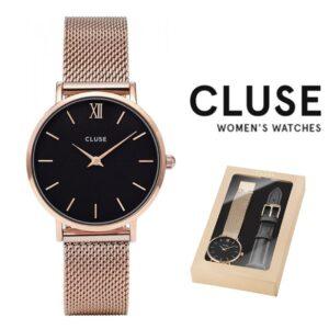 Relógio Cluse® Inclui 2 Braceletes CLA004 | 38 MM