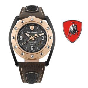 Relógio Lamborghini® Cuscinetto R Rose Gold TLF-T02-5 - Swiss Made automático - Titânio