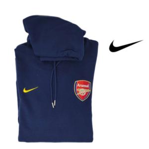 Nike®Camisola Oficial Arsenal com Carapuço -Tamanho S