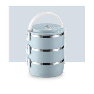 Recipiente de Transporte de Alimentos Empilhável 2.1L Azul | OR54N