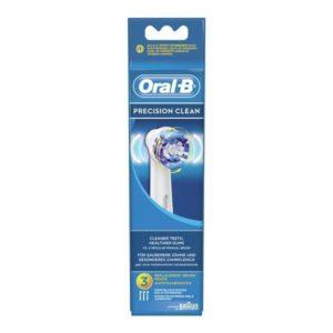 3 Recargas para Escovas de Dentes Elétricas Oral-B Precision Clean