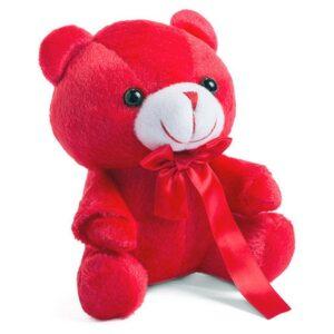 Urso de Peluche Vermelho