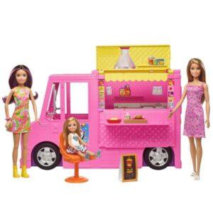 Playset Food Truck Barbie Bonecas