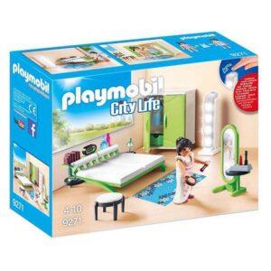 Playset City Life Home Bedroom Playmobil 9271 (21 pcs)