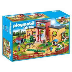 Playset City Life Pets Hotel Playmobil 9275