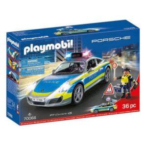 Playset Porsche 911 Carrera 4S Police Playmobil 70066 (36 pcs)