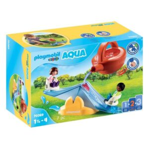 Playset 1,2,3 Water Rocker with Sprinkler Playmobil 70269 ( 7 pcs)