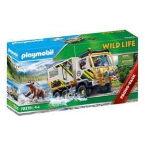 Playset de Veículos Playmobil Wild Life Aventuras