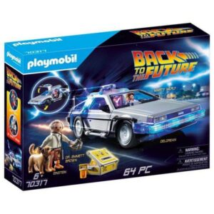 Playset Action Racer Back to the Future DeLorean Playmobil 70317