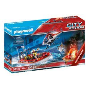 Playset City Action Rescue Mission Playmobil 70335 (100 pcs)