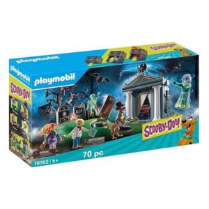 Playset Scooby Doo! Adventure in the Cemetery Playmobil 70362 (70 pcs)