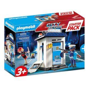 Playset City Action Police Starter Pack Playmobil 70498 (37 pcs)