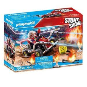 Playset Playmobil Stunt Show Bombeiro (47 pcs)