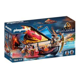 Playset Novelmore Burnham's Bandits Boat Playmobil 70641 (55 pcs)