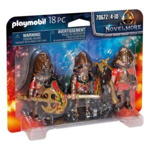 Conjunto de Figuras Novelmore Fire Knigths Playmobil 70672 (18 pcs)