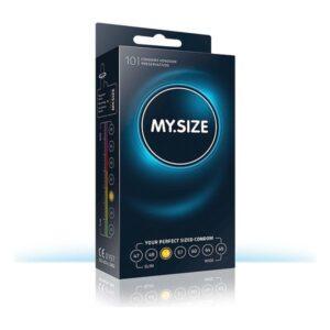 Preservativos MY.SIZE 415310000 53 mm 17,8 cm (10 uds)