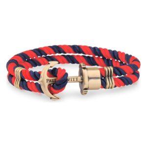 Bracelete feminino Paul Hewitt PH-PH-N-NR-S (15-16 cm)