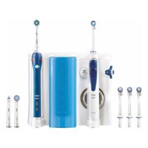 Escova de Dentes Elétrica + Irrigador Dental Oral-B OC501 Branco Azul