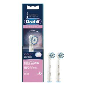 2 Cabeça de Substituição Sensitive Clean Oral-B