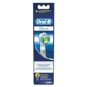 2 Cabeça de Substituição 3d White Pro-bright Oral-B