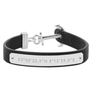 Bracelete Paul Hewitt PH-MSC-S-B 18,5 cm