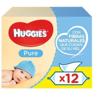 672 UNIDADES - PACK 12 Embalagens x 56 unid Toalhetes Huggies (Refurbished A+)