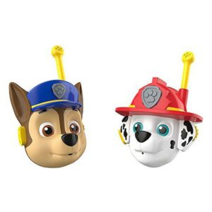 Walkie-Talkies 3D Chase & Marshall The Paw Patrol (2 uds) (Refurbished A+)