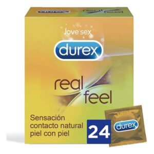 Preservativos Durex Real Feel (24 uds)