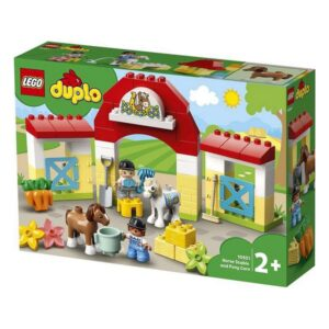 Playset Duplo Horse Stable and Pony Care Lego 10951 (65 pcs)