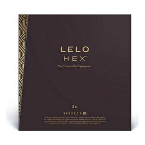 Preservativos Lelo 5037 XL 58 mm (36 uds)