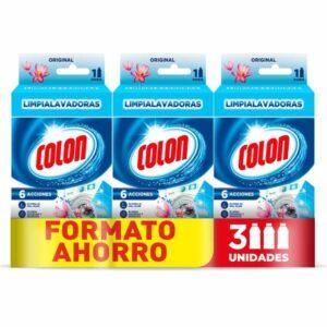 Limpador Colon Máquina de lavar Antiodor (3 uds) (Refurbished A+)