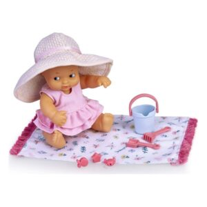 Boneca bebé Famosa Barriguitas Praia (14,5 cm)