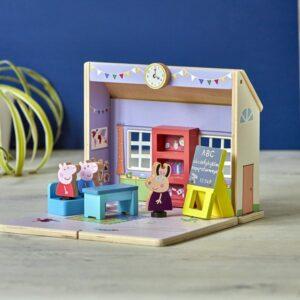Playset Bandai Peppa Pig Pré-escolar Madeira (26 x 23,5 x 10 cm)