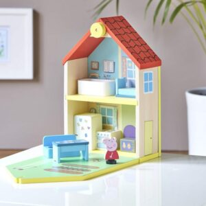 Playset Bandai Peppa Pig Casa Madeira (20 x 30 x 11 cm)
