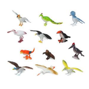 Conjunto Animais Selvagens 110180 Vogel (12 Pcs)