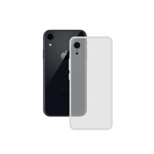 Capa para Telemóvel Iphone XR Contact TPU Transparente
