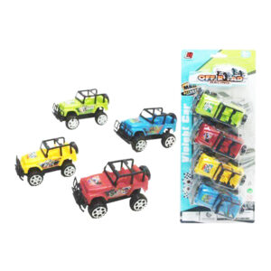 Carro 4x4 (4 pcs)