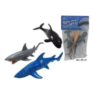 Playset animais Marinha (3 pcs)