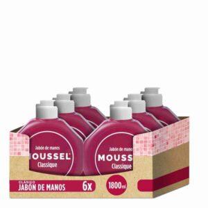 PACK 6 Embalagens Sabonetes de Mãos Moussel 300 ml (Refurbished A+)