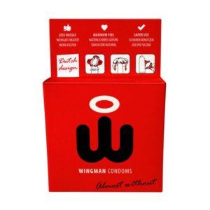 Preservativos Wingman 3 Unidades Wingman E24696