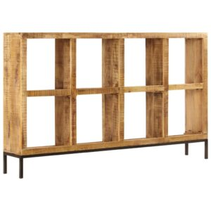Aparador 160x25x95 cm madeira de mangueira maciça - PORTES GRÁTIS
