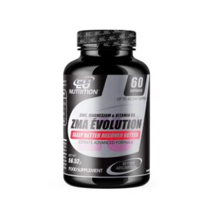 60 Comprimidos ZMA Évolution Zinco Magnésio Vitamina B6 (Refurbished A+)