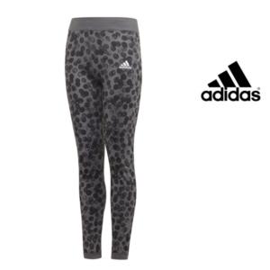 Adidas® Leggings Reversíveis Júnior Cinza