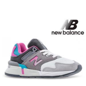 New Balance® Sapatilhas Criança Running Grey/Pink